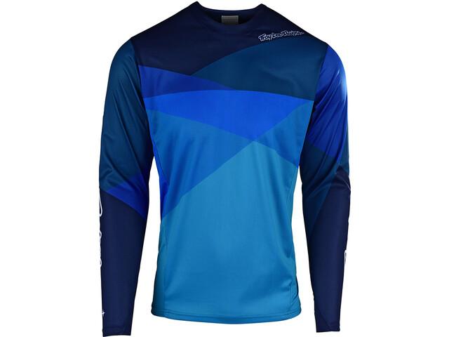Troy Lee Designs Sprint LS Jersey Herren jet/ocean/blue